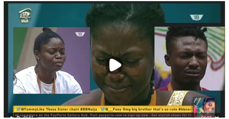 Tears Rolls As 2017 Big Brother Naija Housemates Receives Family Visitation