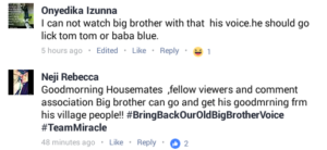 Fans Reactions To Biggie's Voice In Double Wahala