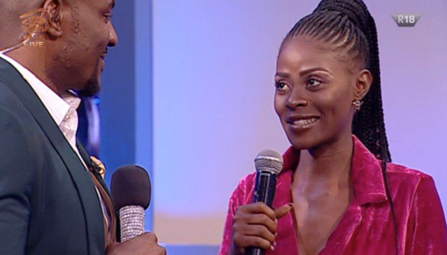 Khloe Evicted From BBNaija House During Live Eviction Show