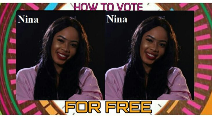 How To Vote For NINA In Big Brother Naija For Free On The Website And SMS