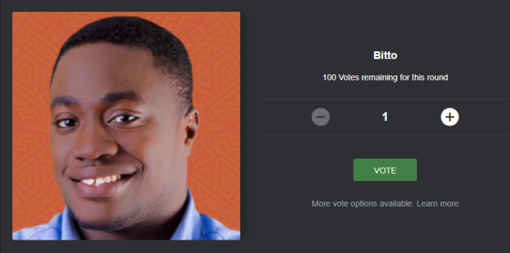 How To Vote BITTO Back To BBNAIJA House For Free On The Website And SMS