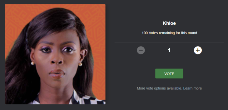 How to Vote and Save Khloe from Eviction