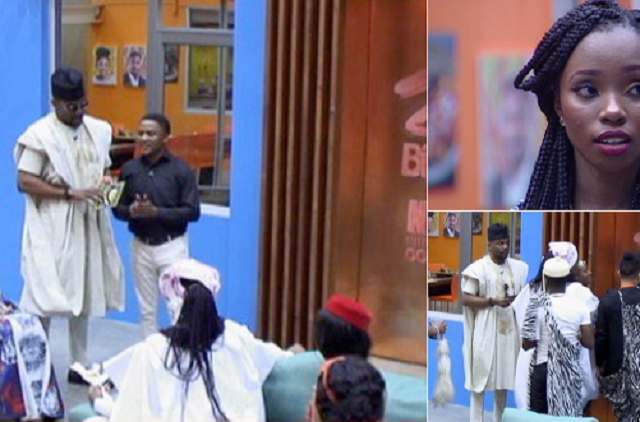 Bambam Evicted From Big Brother Naija House After Night Party
