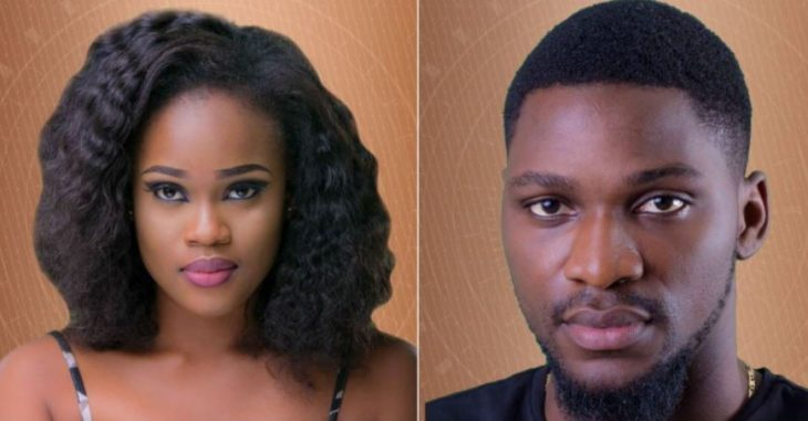 Tobi and Cee C BBNaija: Cee-C Reveals Tobi's Real Age in Big Brother House