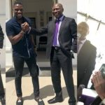 BBNaija Tobi share lovely photos with his Billionaire dad, Mr. Bakre