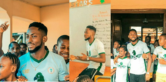 Miracle visited his primary school, reveals what he has been up to after Big Brother Naija 2018