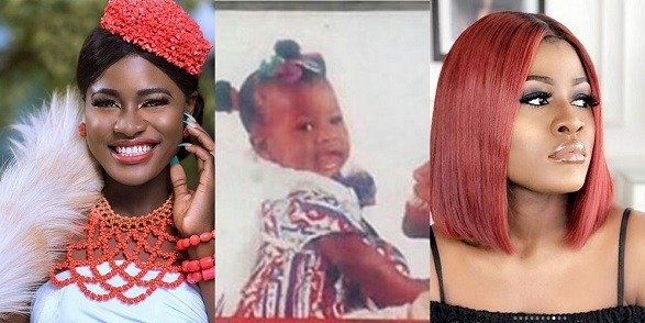 Alex BB Naija drops epic throwback picture of baby Alex on Social Media.