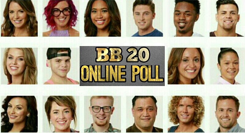 BIG BROTHER 20 VOTING POLL | BB 20 ONLINE POLL 2018