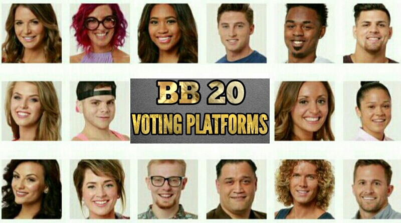 How to Vote BB 20 Cast on Social Media | Big Brother 20 Vote On Facebook Messenger, Skype, Twitter and Kik