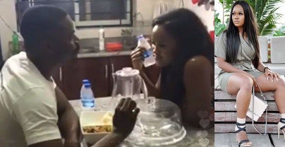 BBNaija Leo and Cee-C dating rumours came through with romantic dinner (Watch Video)