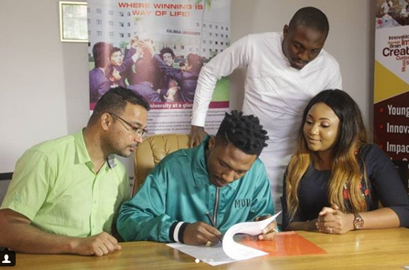 Efe BBNaija becomes African ambassador to India University