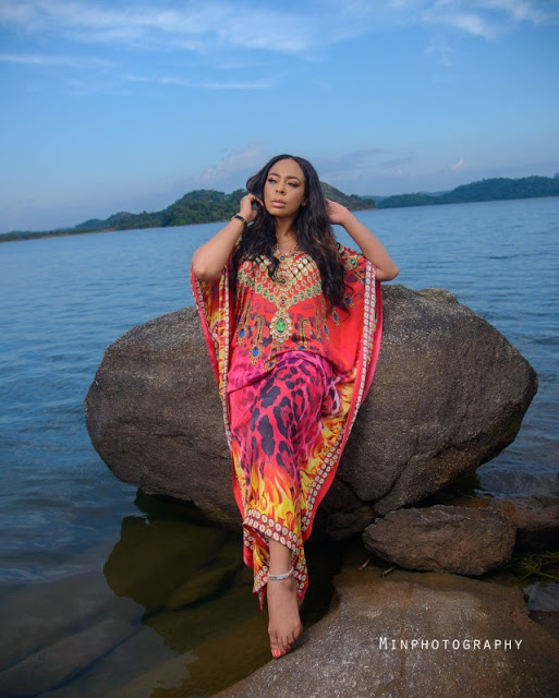 I turn into a 'mermaid every weekend' - Tboss Reveal (Photo)