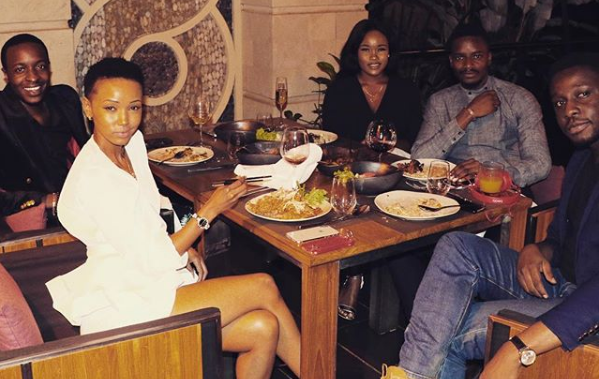 Leo and Cee-C Enjoys Dinner with former Big Brother Africa Stars in Nairobi, Kenya