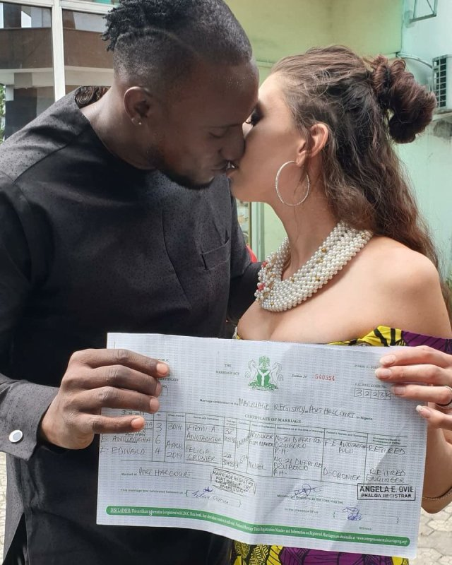 BBNaija Angel got Married to Canadian Girl in Port Harcourt