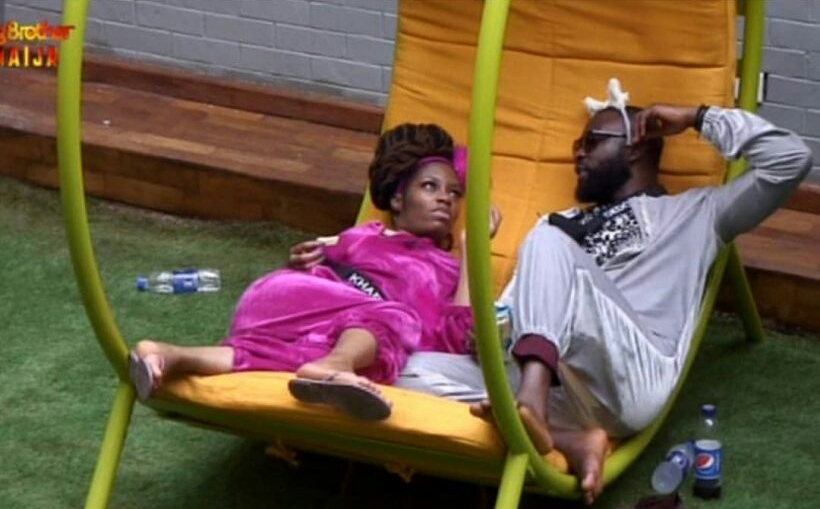 Khafi and Gedoni caught Kissing in Big Brother House
