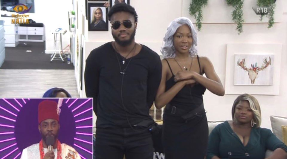 Praise Evicted From BBNaija 2020 House during Live Eviction Show in Week 5