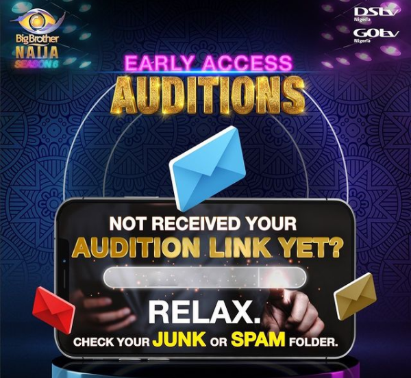 How Long does it Take to Get BBNaija 2021 Audition Link ...